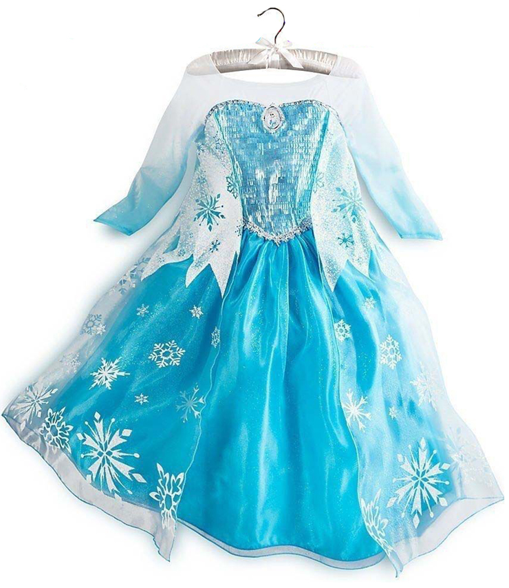Frozen Princess Elsa Costume, Blue Frozen Elsa Dress, Disney Princess ...: www.malltop1.com/Products/2014/7/Frozen-Princess-Elsa-Costume-N8570...