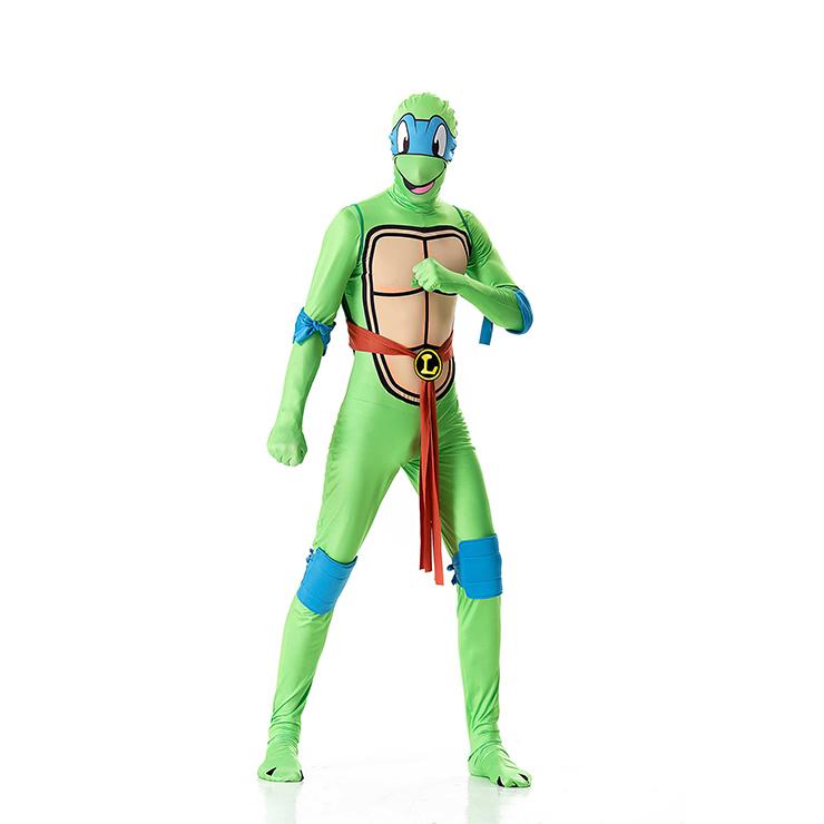 sc 1 st  MallTop1.com & Funny Turtle Jumpsuit Adult Ninja Halloween Cosplay Costume N18013