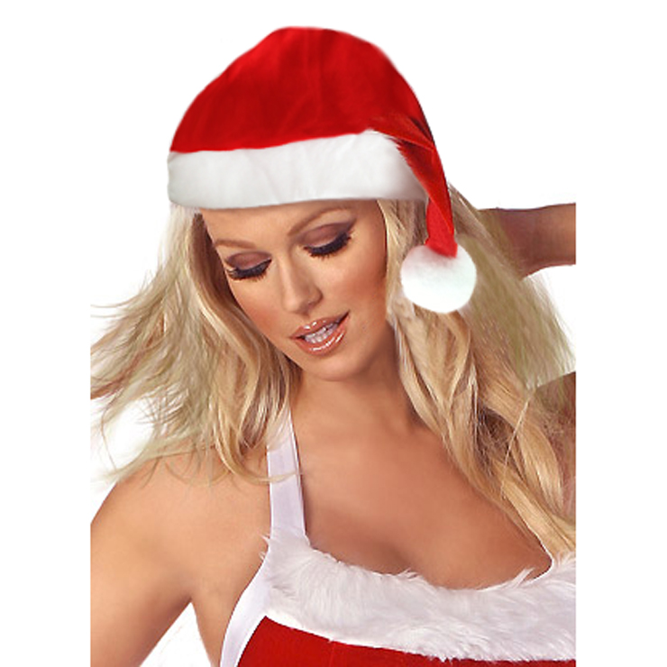 Fleece Trimmed Santa Hat HG2204