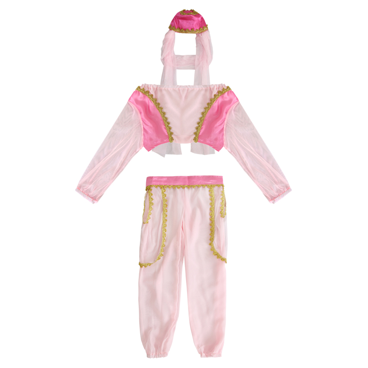 Genie In A Bottle Child Costume, Genie from the lamp costume for girls, genie from the lamp costume, #N5986