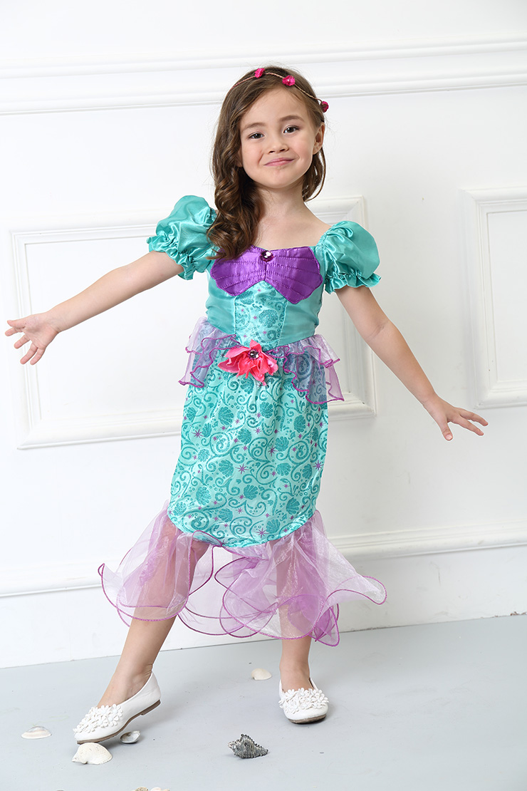 Girls Ariel Costume, Girls Costume, Ariel Costume for Girls, #N4578