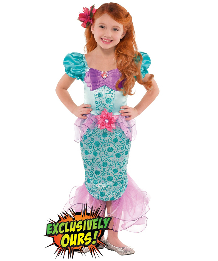 Girls ariel costume n4578