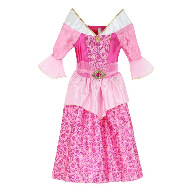 princess costume, Girls Classic Aurora Costume, Aurora Costume, #N4686
