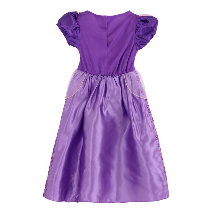 Girls Classic Rapunzel Costume, Rapunzel Costume, Girls Deluxe Tangled Rapunzel Costume,  #N4685