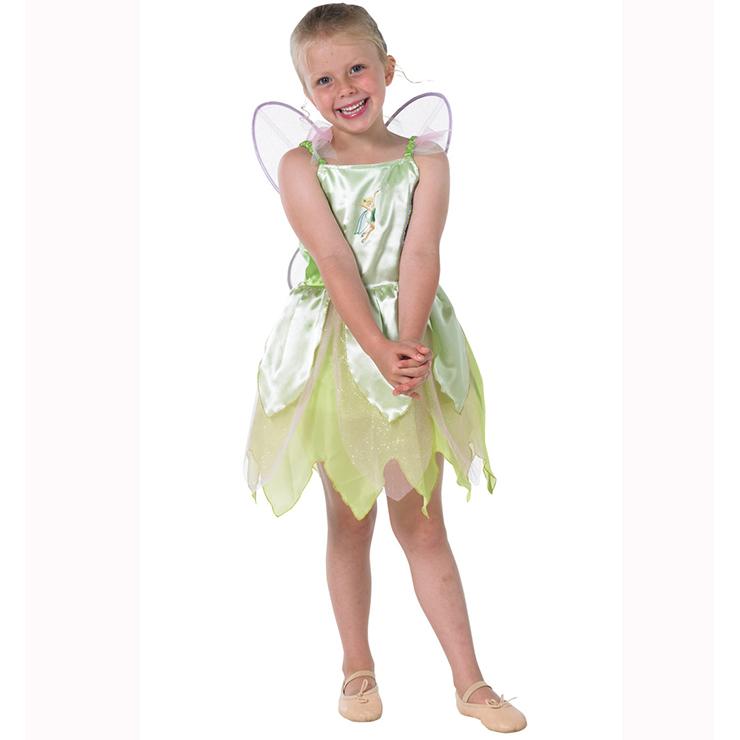 sc 1 st  MallTop1.com & Girls Classic Tinkerbell Costume N5964