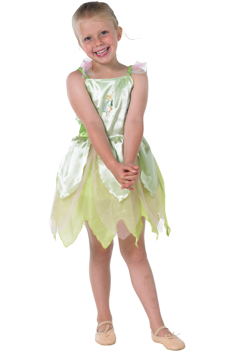 Girls Classic Tinkerbell Costume, Tinker Bell Classic Child Costume, Kids Tinkerbell Costume, #5964