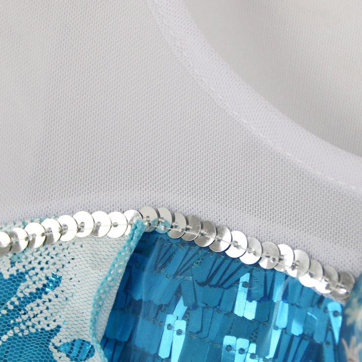 Princess Cosplay Costume, Blue Dress, Princess Dress, #N8570