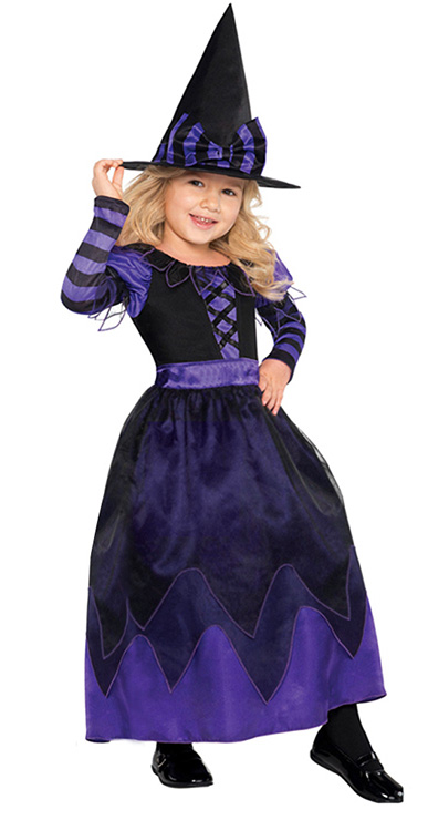 Purple Witch Costume Girls Witch Girls Costume Pretty Potion Witch Costume Girls #  sc 1 st  MallTop1.com & Girls Purple Witch Costume N5757