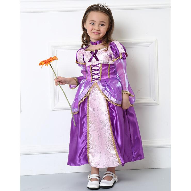 Girls Rapunzel Costume Supreme N4583