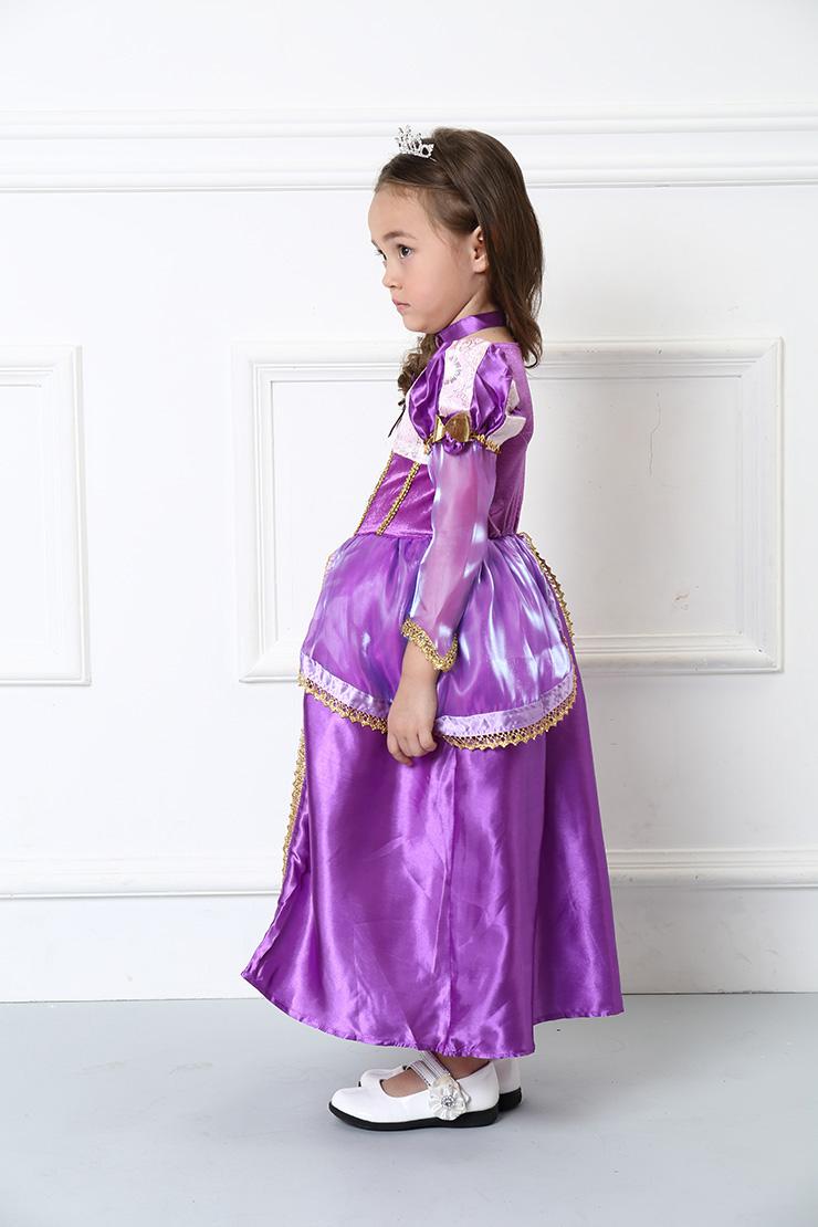 Girls Rapunzel Costume, Girls Rapunzel Costume Supreme, Girls Costume, #N4583