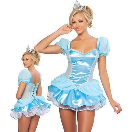 Glass Slipper Beauty Costume N3320