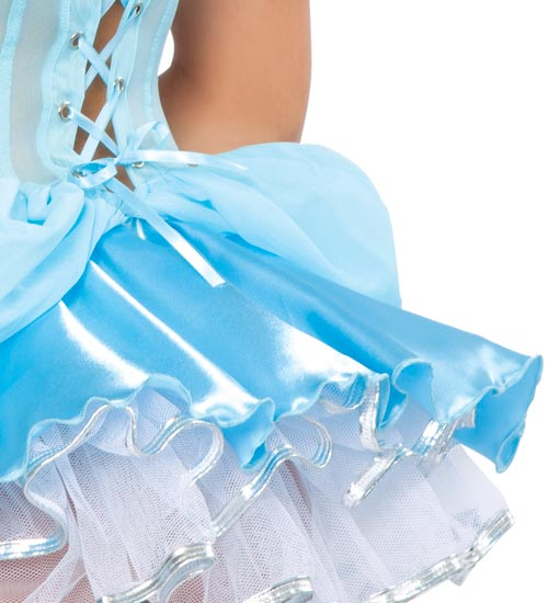 Midnight Cinderella Costume, Glass Slipper Beauty Costume, Princess Costume, #N3320