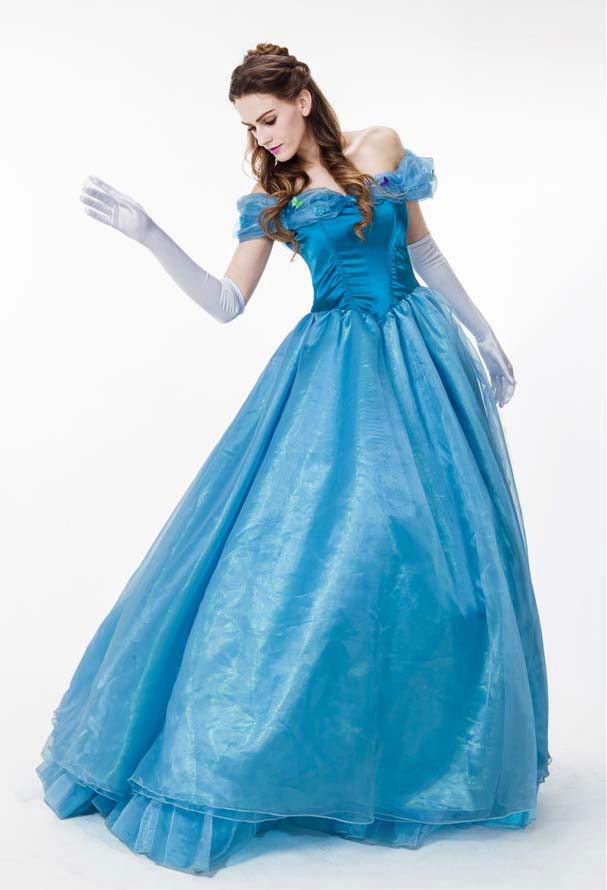 Cinderella Costume, Gorgeous Adult Princess Dress, 2015 Cinderella Disney  Costume, Women