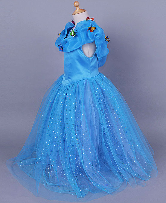 Cinderella Costume, Gorgeous Kid Princess Dress, 2015 Cinderella Disney Costume, Women