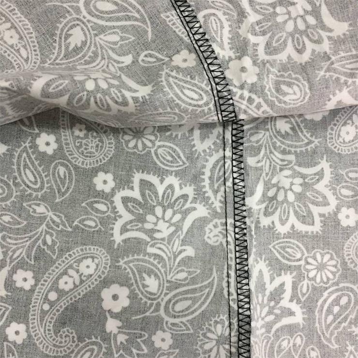 Fashion Paisley Printed Shirt, Casual Short Sleeve Tops, Paisley Printed Slim Fit T-shirt, Women