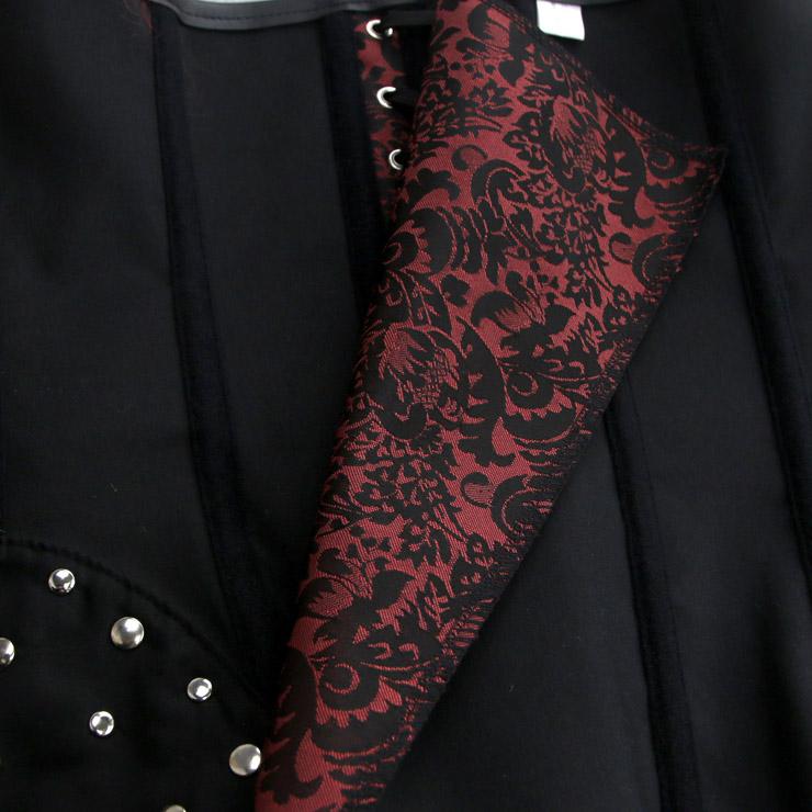 Heavy Plastic Boned Corset, Cheap Outerwear Corset, Retro Overbust Corset, Sexy Gothic Jacquard  Strapless Corset, Sexy Strapless Overbust Corset, Victorian Gothic Waist Cincher, #N18769