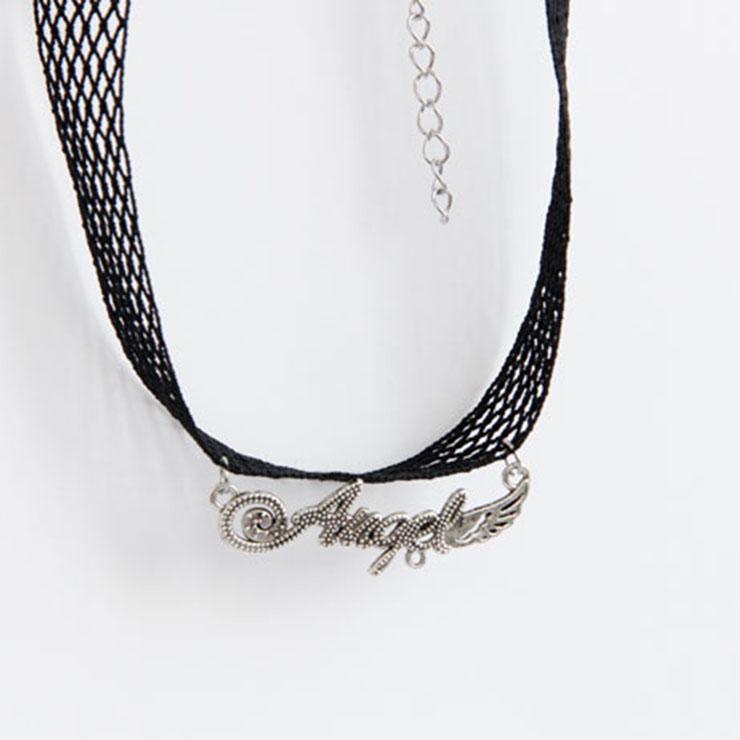 Vintage Style Necklace, New Gothic Necklace, Gem Necklace, Lace Necklace, Cheap Punk Chocker, Victorian Necklace, #J17367