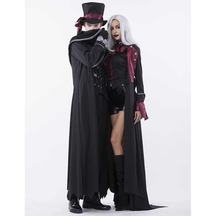 Deluxe V&ire Couples Costume Deluxe V&ire Costume Sexy Dark V&ire Costume Dressed to  sc 1 st  MallTop1.com & Gothic Adult Halloween Vampire Dressed to Kill Couple Costume N14770