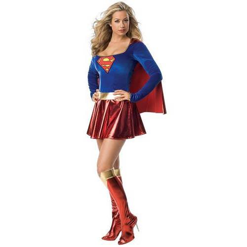 Women Supergirl Costumes M3266