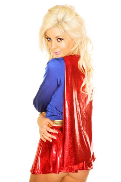 Gladiator Girl Costume, Women Supergirl Costumes, Hero Costume, #M3266