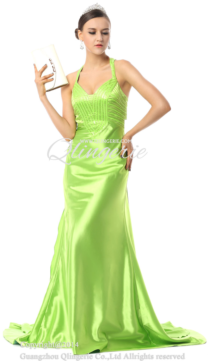 Pageant Dresses, Green Formal Dresses, Evening Dresses Cheap, New 2015 Dresses, Buy Expensive Discount Dresses, #F30022
