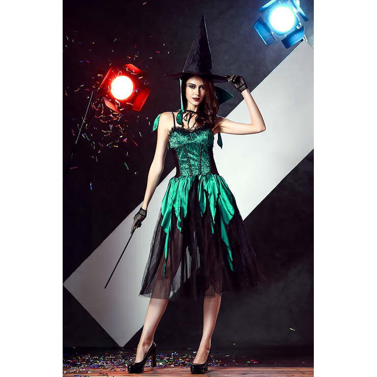 Halloween Costumes, Witch Halloween Costume wholesale, witch costume for women, #N11677