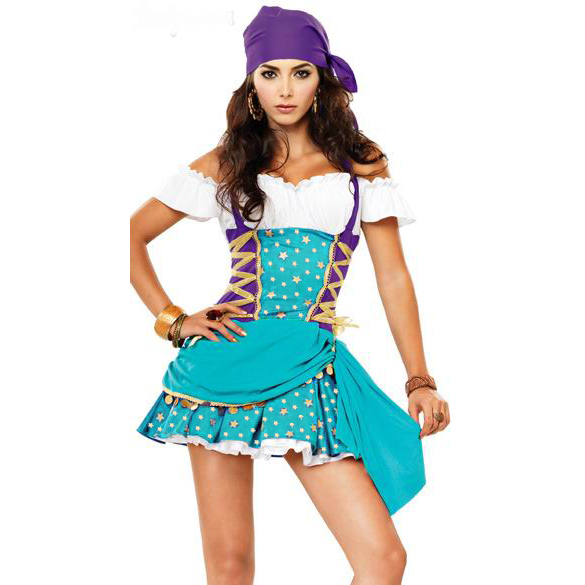 gypsy halloween costume n4737 - Exotic Halloween Costume