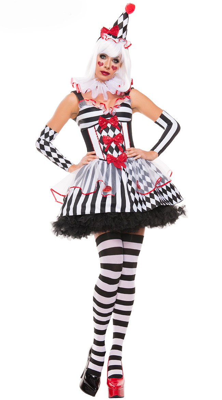 harlequin clown costume n10832. Black Bedroom Furniture Sets. Home Design Ideas