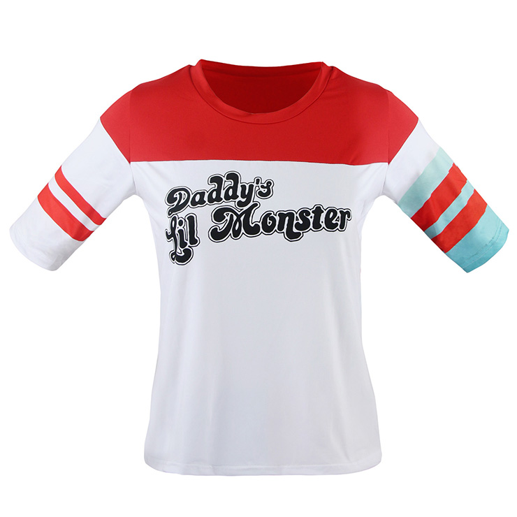 Adult Harley Quinn Daddy's Lil Monster Shirt N12703