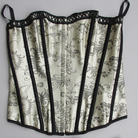Brocade Corset, Lace up Corset, Sexy Plus Size Corsets, Sext Strapless Valentine