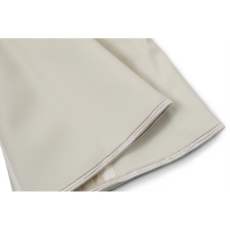 Apricot Steel Bone Vest Corset, Latex Underbust Corset, Apricot Underbust Corset, Women