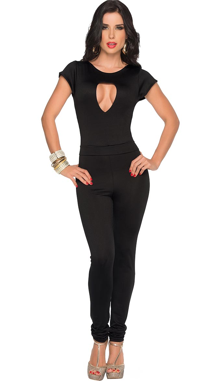 Sexy Black Pants Set, Cheap Milk Fiber Clothes, Women