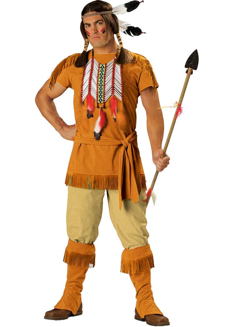 Indian Brave Adult Costume N4788