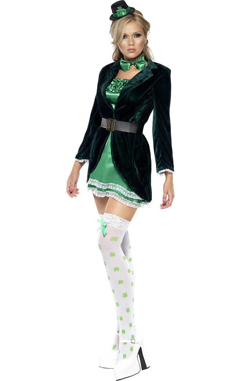 Irish Leprechaun Fancy Costume N7834