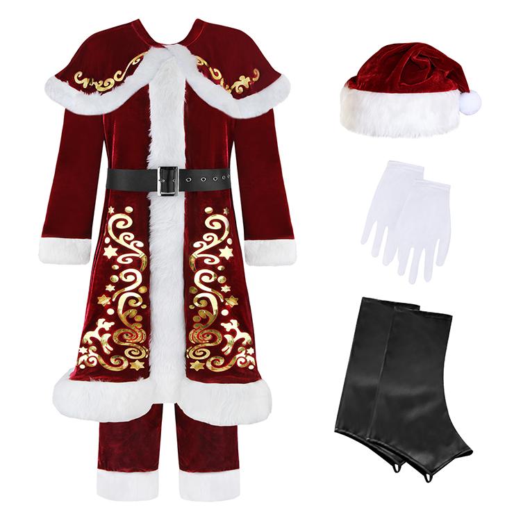 Premier Plush Santa Suit, Santa Claus Costume, Santa Claus suit, #XT6286