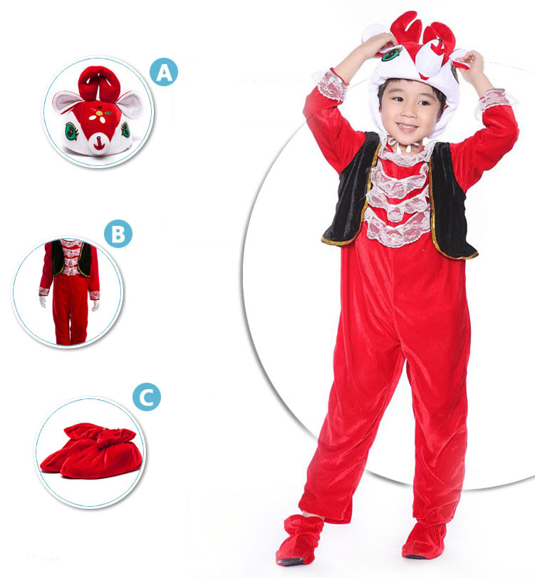 Deer Jumpsuit Romper Children Christmas Deer Costume Children Red Deer Costume #N6298  sc 1 st  MallTop1.com & Joyous Red Deer Jumpsuit Romper N6298