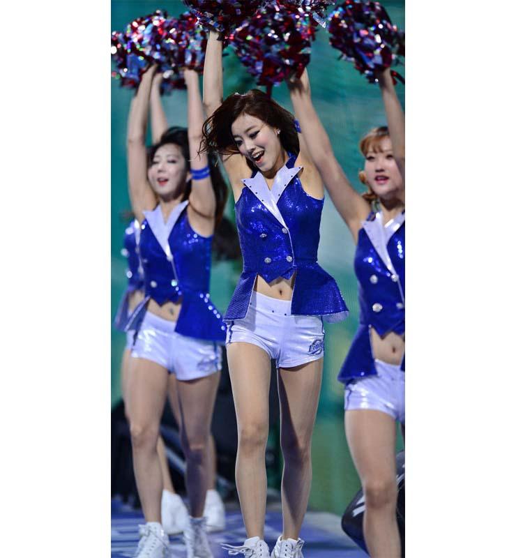 Korea Baseball Babe Cheerleaders Costume N10448