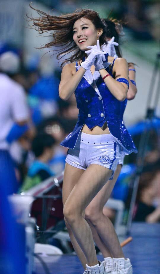 Korea Baseball Babe Costume, Sexy Cheerleaders Costume, Women