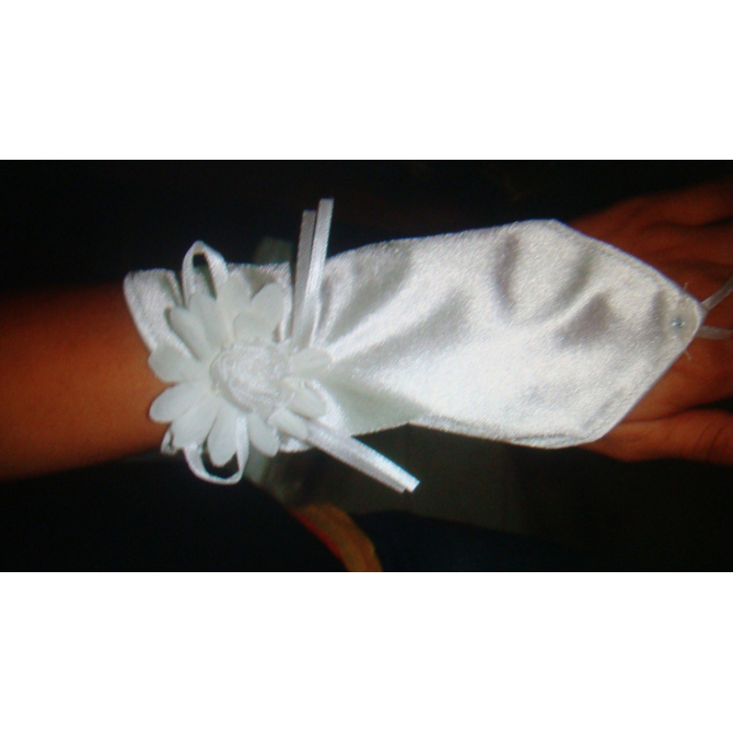 Lace Satin Gloves HG1961