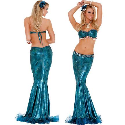 Lustful Mermaid Costume C2222