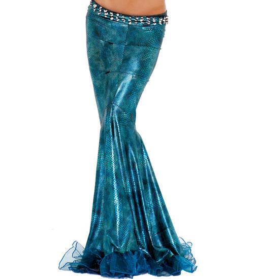 Lustful Mermaid Costume, Sea Diva Costume, Blue Mermaid Costme, #C2222