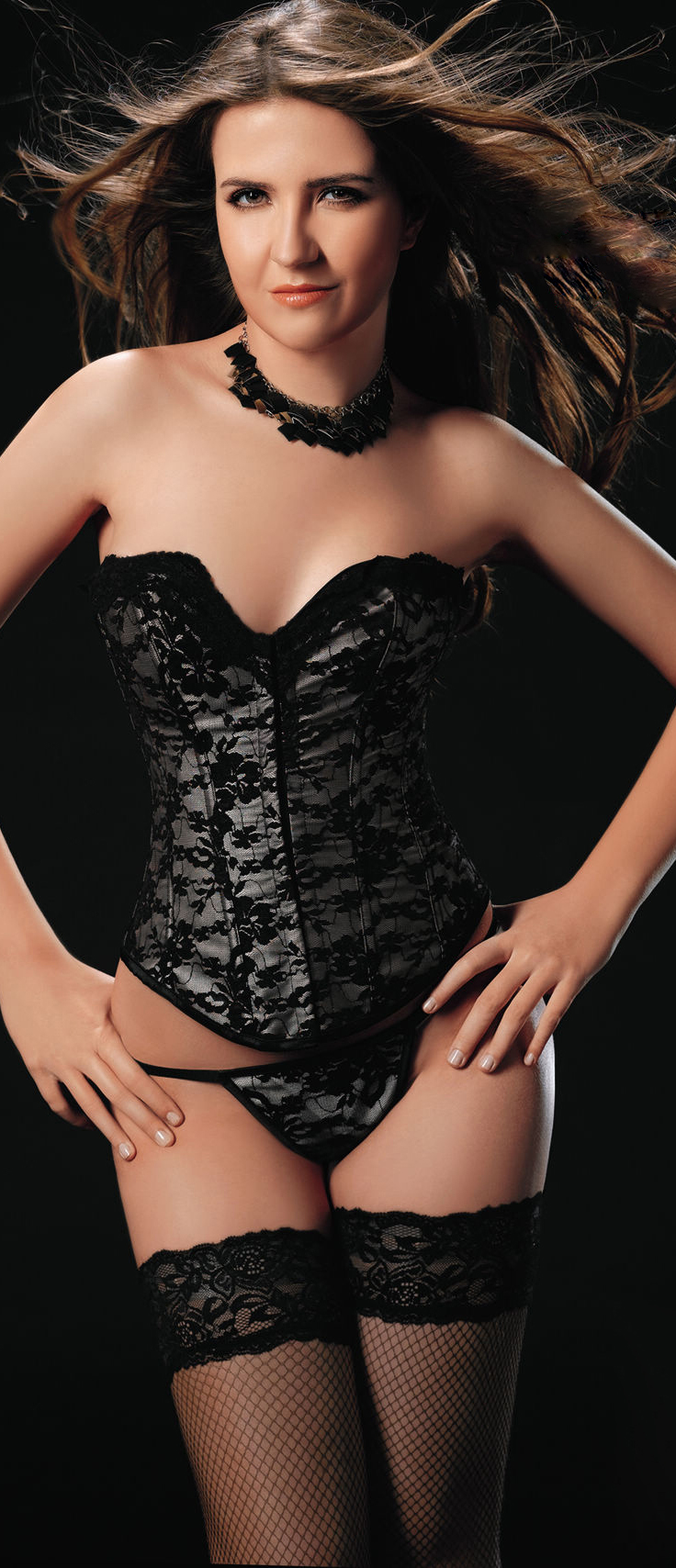 underwire bustier, Lace up Floral Corset, Sexy Plus Size Corsets, #N2262
