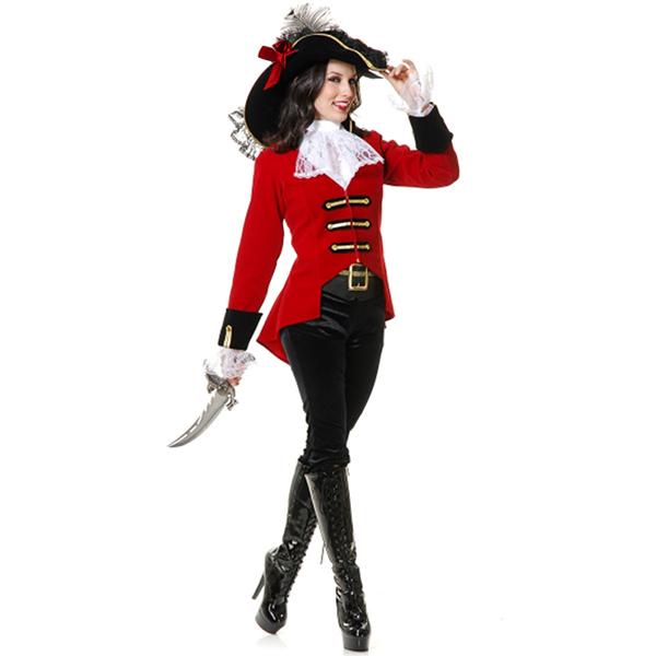 Ladies Regal Pirate Captain Costume N11974