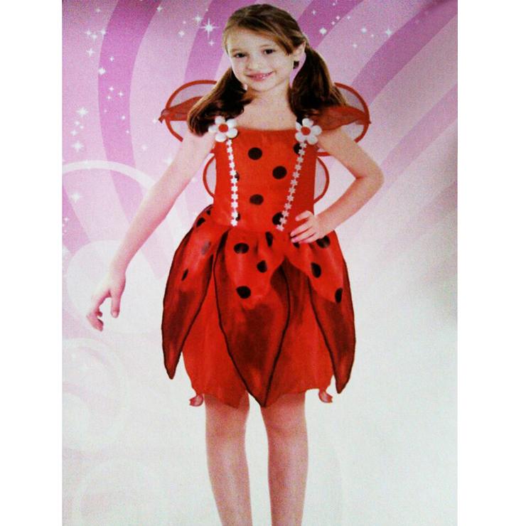 Ladybird costume for girls N5997