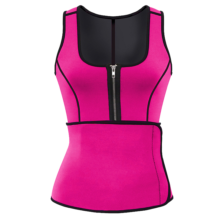 Women's Latex Waist Training Vest Corset with Girdles N14721