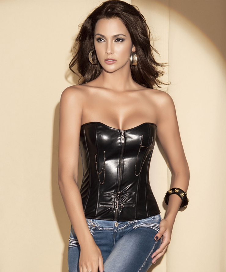 The Leather corset dress is tremendously flattering due to its shape. Leather has always been sensual and provocative. Among the many up-and-coming fashion trends today tight leather corset reviews offers getting higher popularity of leather corset dress to articulate your own personality and style.