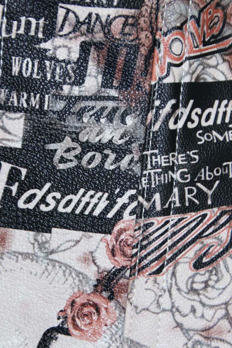 Leather map corset, map corset, Sexy Leather map corset, #N4561