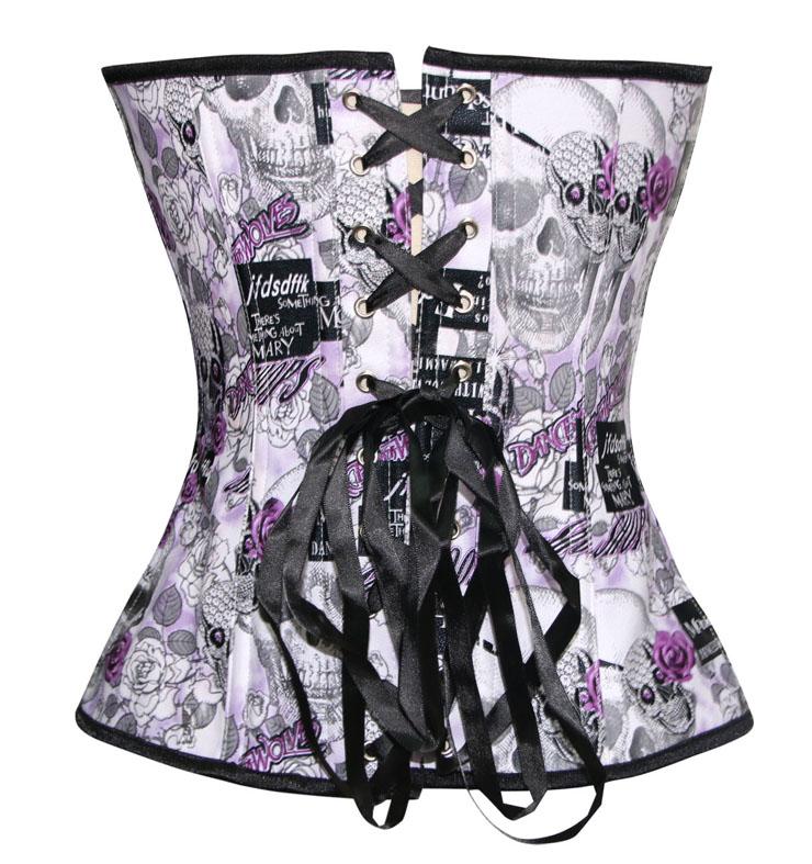 Leather map corset, map corset, Sexy Leather map corset, #N4562
