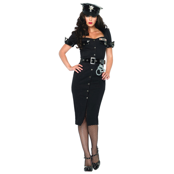 Lieutenant Lockdown Sexy Costume P4864