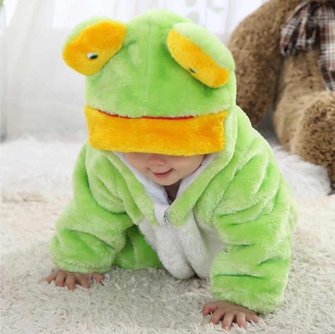 Little Frog Romper Jumpsuit Baby, Halloween Animal Costume Baby, Frog Climbing Clothes Baby, #N6263
